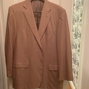 Ermenegildo Zenga Wool Brown jacket Blazer 46R